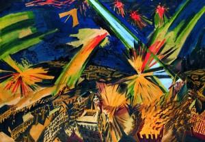 Apokalyptische Landschaft - Ludwig Meidner